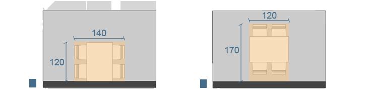 Forma Dimensioni E Posizionamento Di Un Tavolo Arredaclick