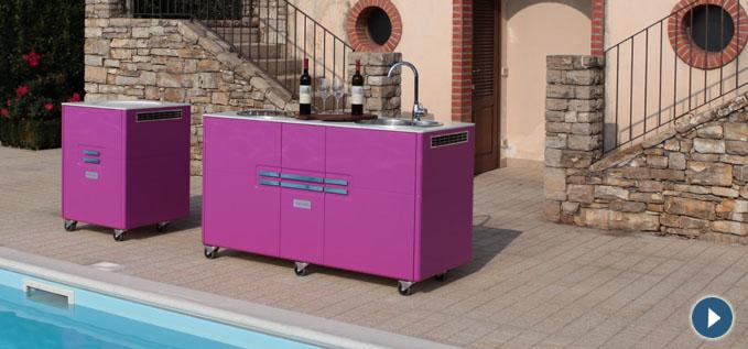 Cucine Monoblocco A Scomparsa. Good Monoblocco Office Cucina With ...