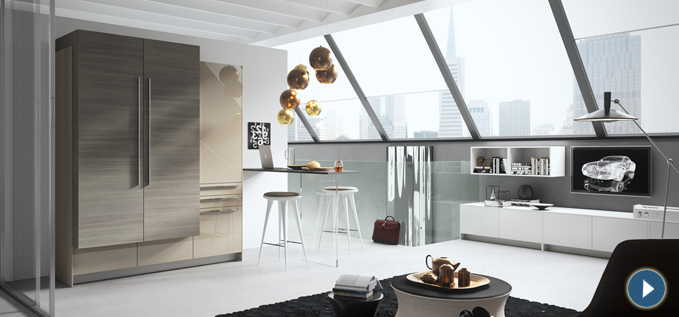 Cucine monoblocco e cucine a scomparsa arredaclick for Cucine per monolocali