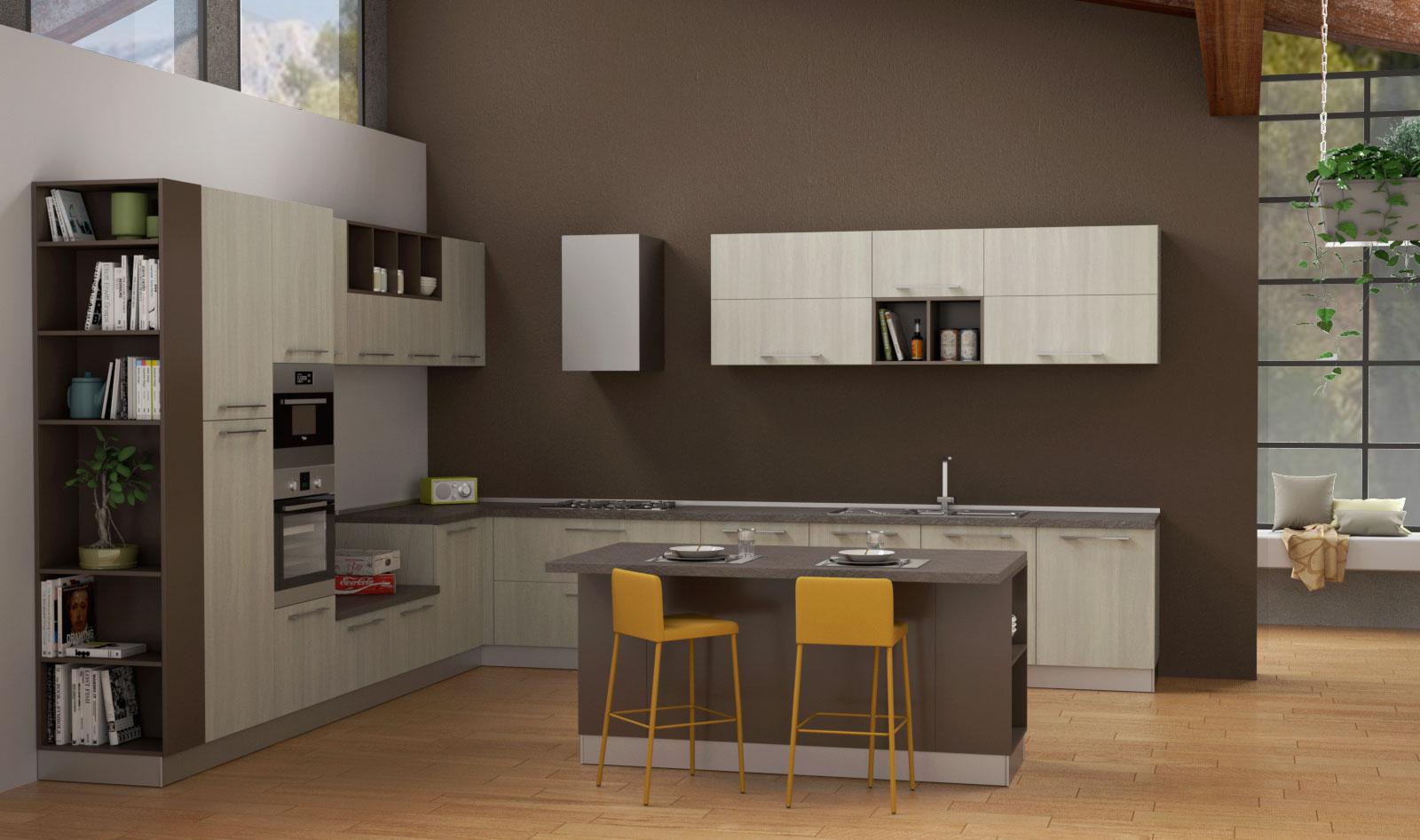 Cucine componibili sistema 901 arredaclick for Cucine componibili