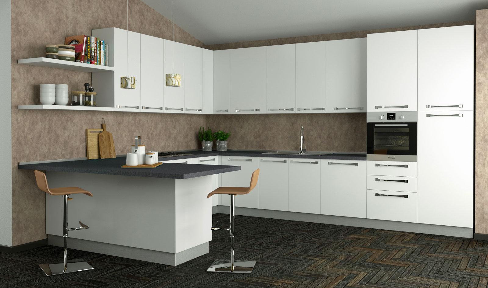 Cucine componibili sistema 901 arredaclick - Ante per cucine componibili ...