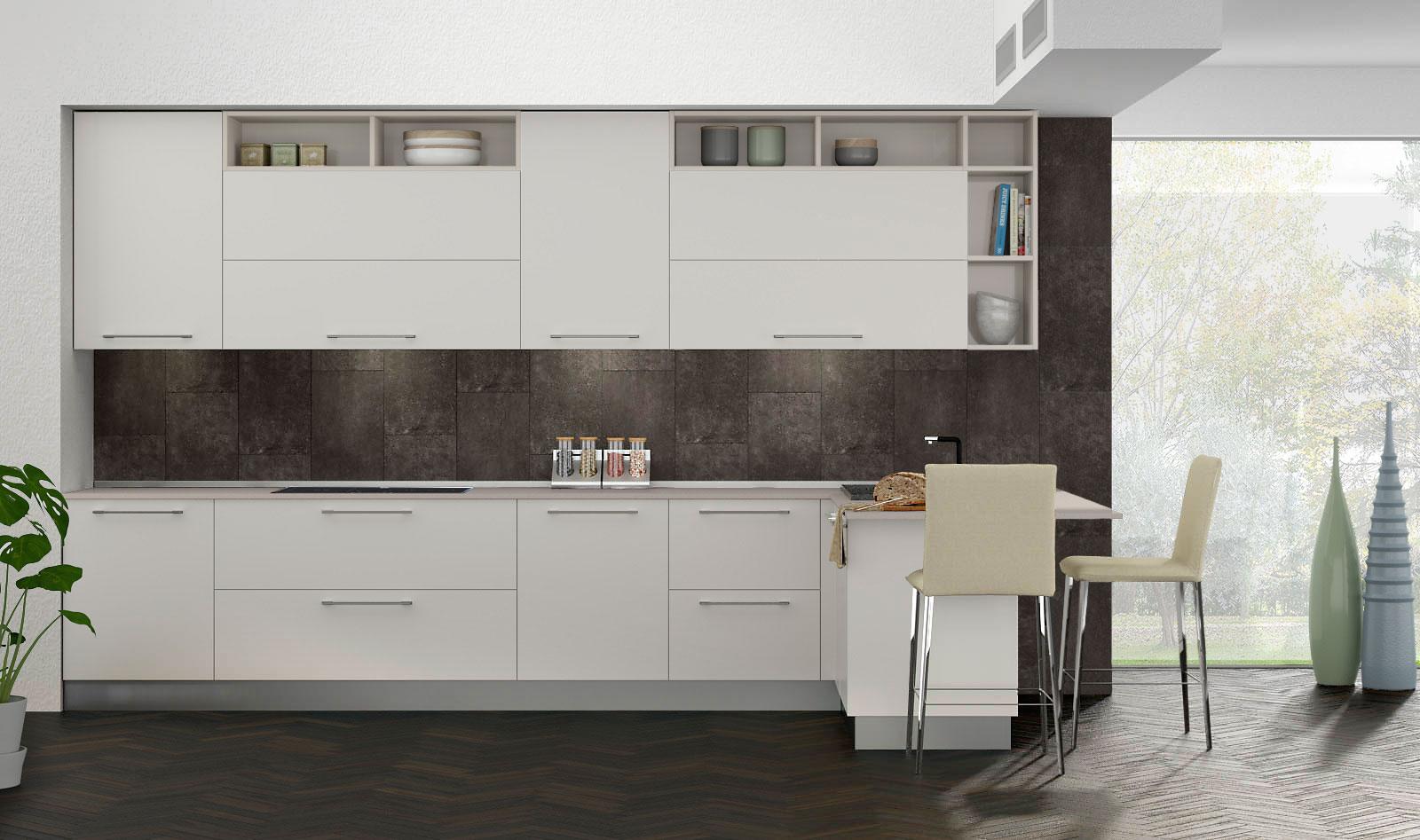 Cucine Moderne Da 3 Metri.Cucine Moderne Economiche Vega Diotti Com