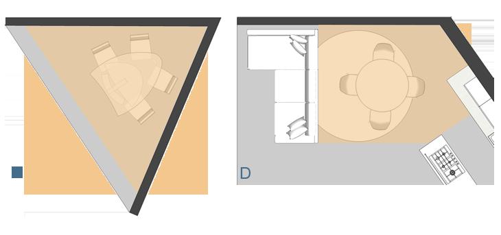 Dimensioni Tavolo 6 Persone.Forma Dimensioni E Posizionamento Di Un Tavolo Diotti Com