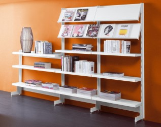Big modular office shelving system by caimi brevetti arredaclick