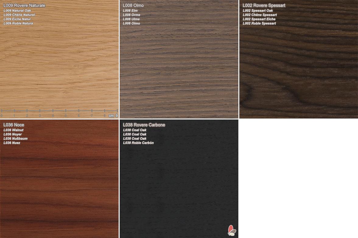 Bt material samples wood melamine arredaclick