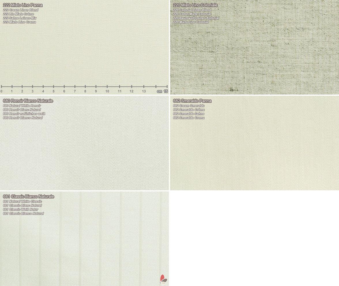 CNT - Muestrario Materiales - Blanquería - ARREDACLICK