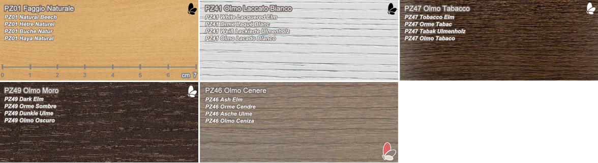 Ozz campionario materiali legno arredaclick