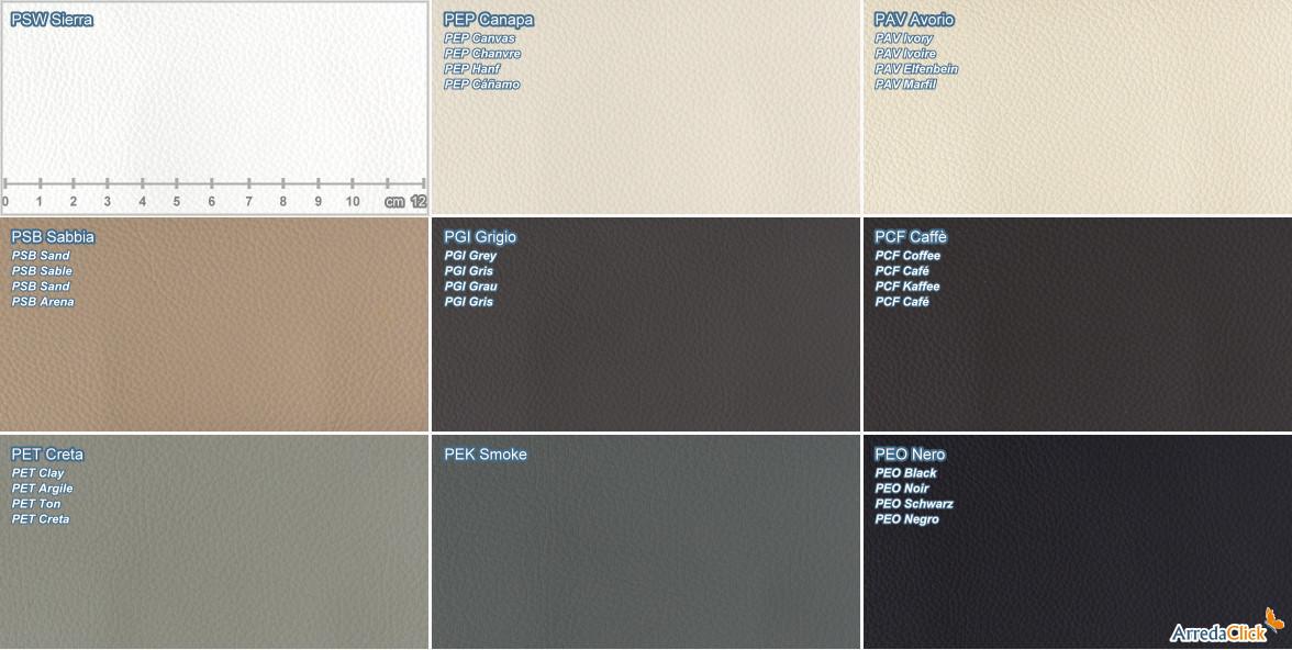 Sgm material samples leather arredaclick
