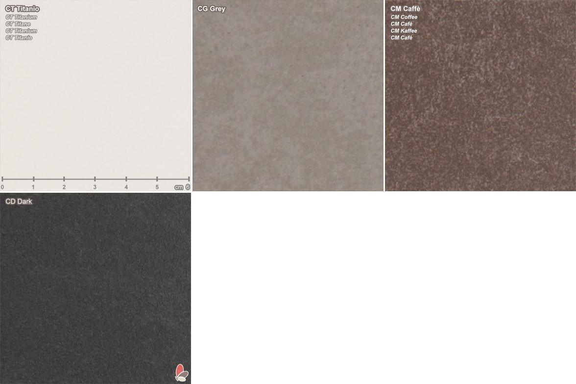Sov material samples stone resin arredaclick