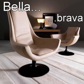 Poltrona da lettura Bella & Brava