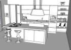 Progettazione cucina progettazione 3d arredaclick for Progetto 3d cucina