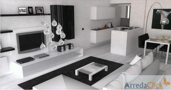 Casa moderna roma italy arredamenti open space for Af arredamenti