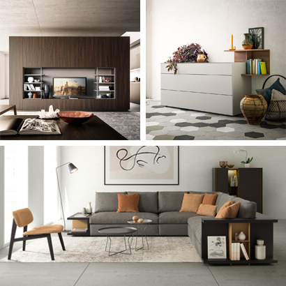 Made in Italy quality furniture for your house living and night areas