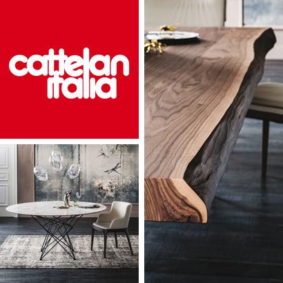 Cattelan: moderne und zeitgenössische Einrichtung