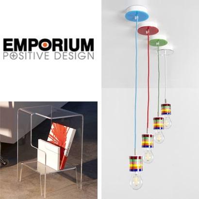 Emporium: illuminazione e complementi per la casa