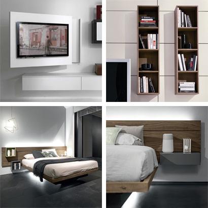 Arredi unici e personalizzabili per il soggiorno e la camera da letto