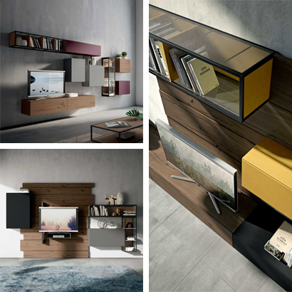 Unique customisable furniture solutions for living rooms and bedrooms