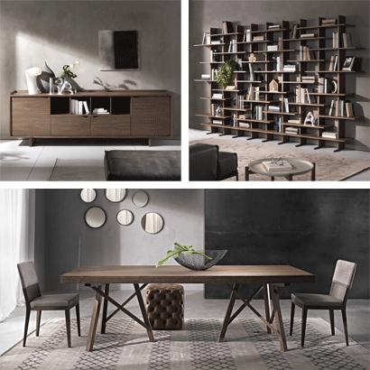 Möbel aus Massivholz für Wohnzimmer und Sitzecke