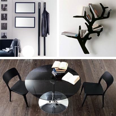 Tische, Stühle, Konsolentische und Accessoires aus Italien