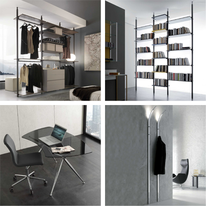 Tables, chaises, consoles et compléments made in Italy