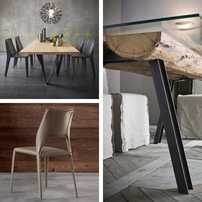 Tables à rallonges, tables de repas, chaises et tabourets pour la cuisine et le séjour