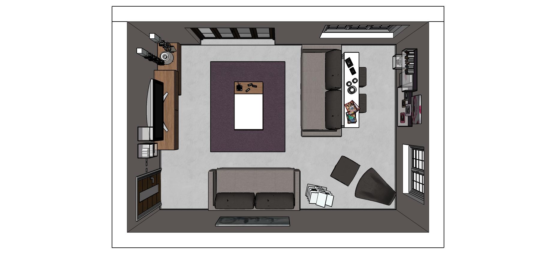 Sala Cucina 25 Mq 1495 soggiorno/salotto