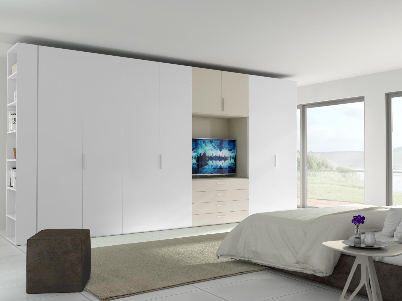 Tilt Element mit Türen / Schubladen und TV-Fach