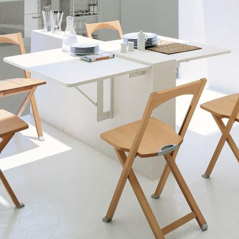 Tavolo A Ribalta A Parete.Quadro Wall Mounted Folding Table By Calligaris Diotti Com