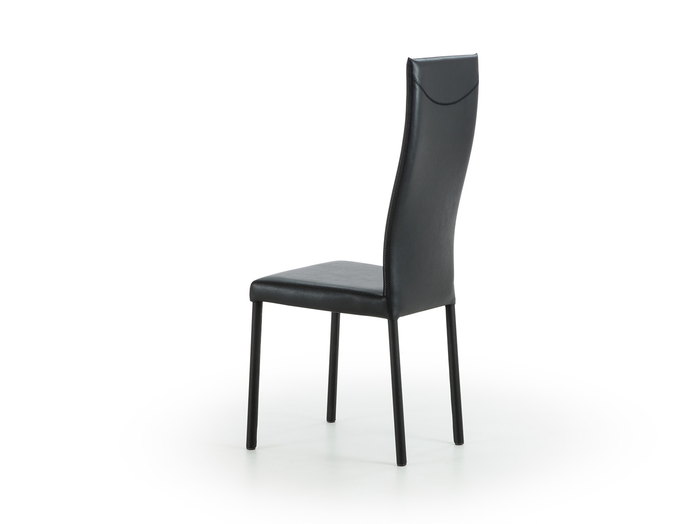 Sedia con schienale alto e curvato Nives - ARREDACLICK