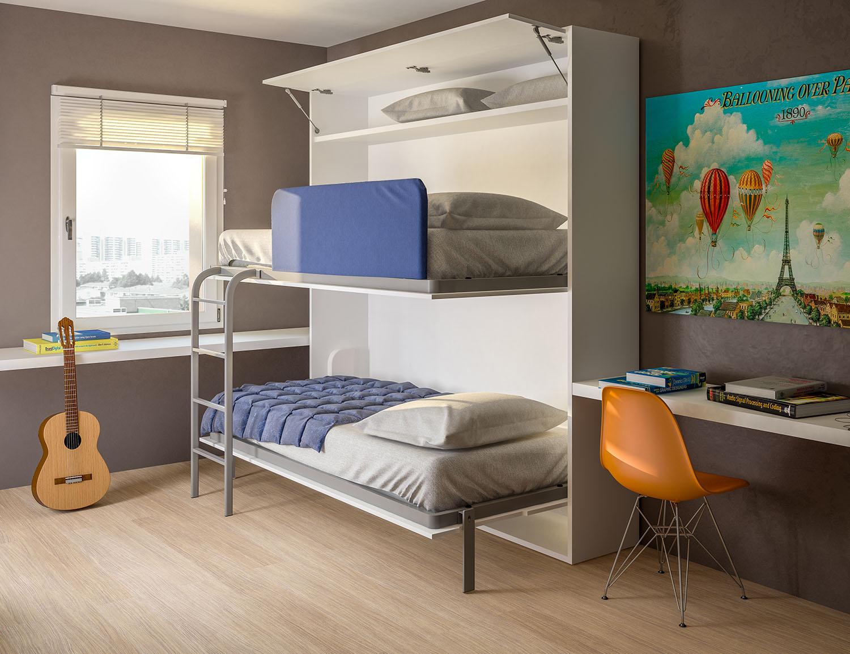 Etagenbett Schrankbett : Slot schrankbett bzw etagenbett für das kinderzimmer arredaclick