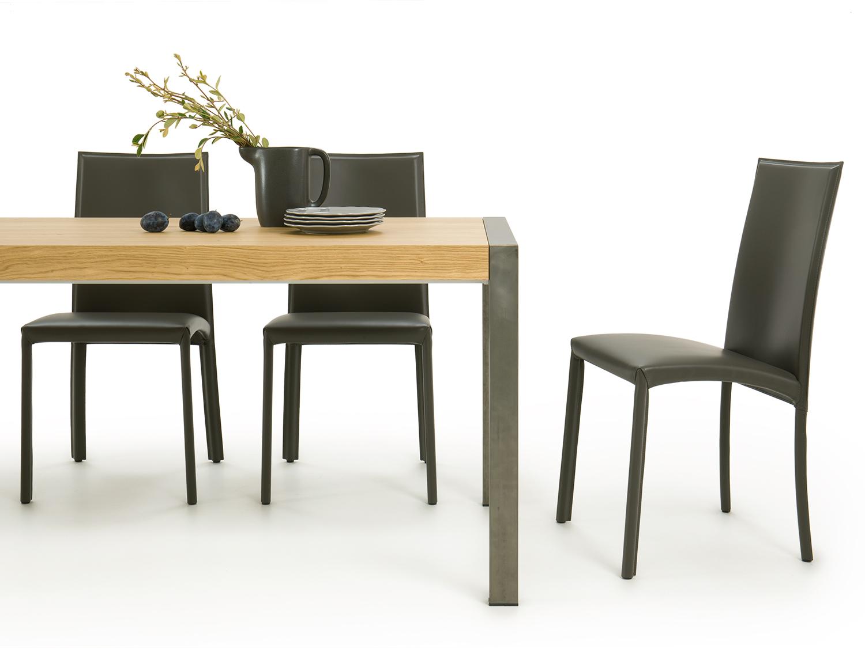 Tavolo Stile Industriale : Tavolo in legno stile metropolitano gary arredaclick