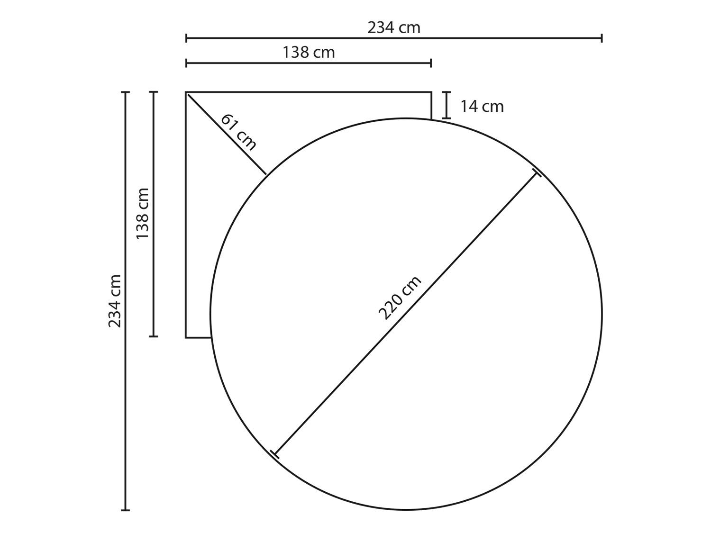 Dimensioni Letto Matrimoniale Rotondo.Wheel