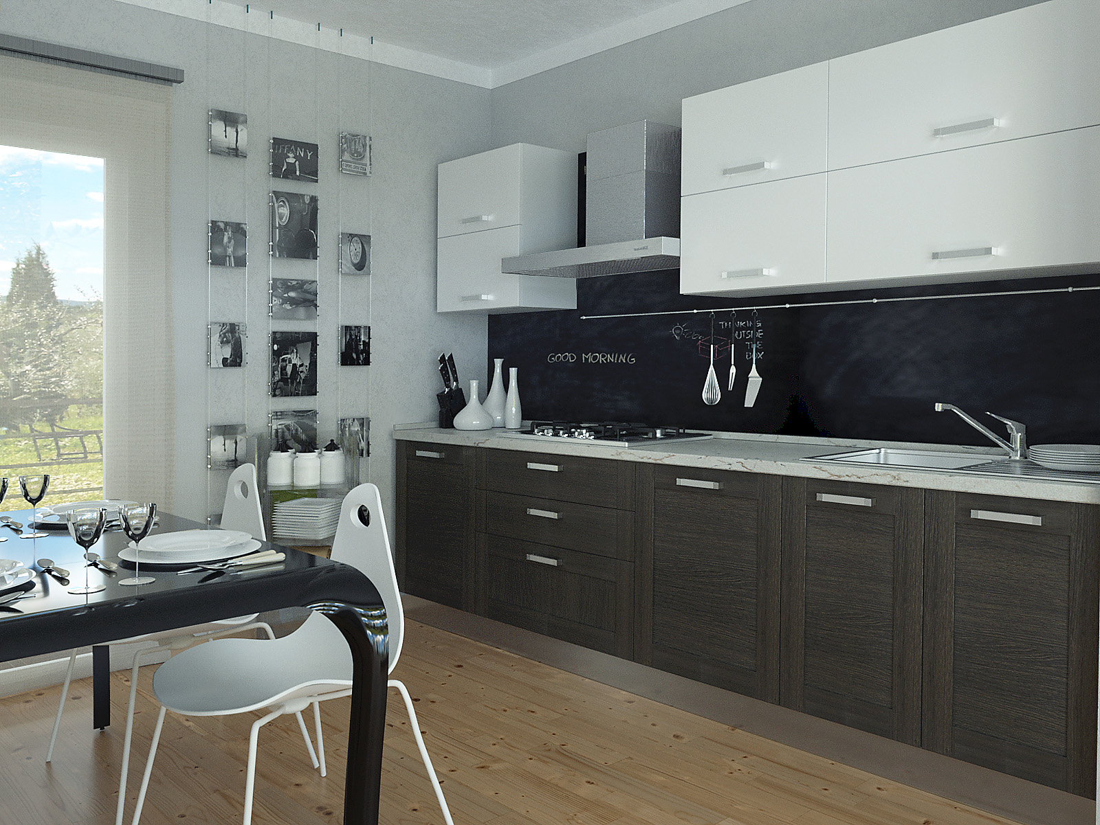 Progettazione Cucina - Progettazione 3D - DIOTTI.COM