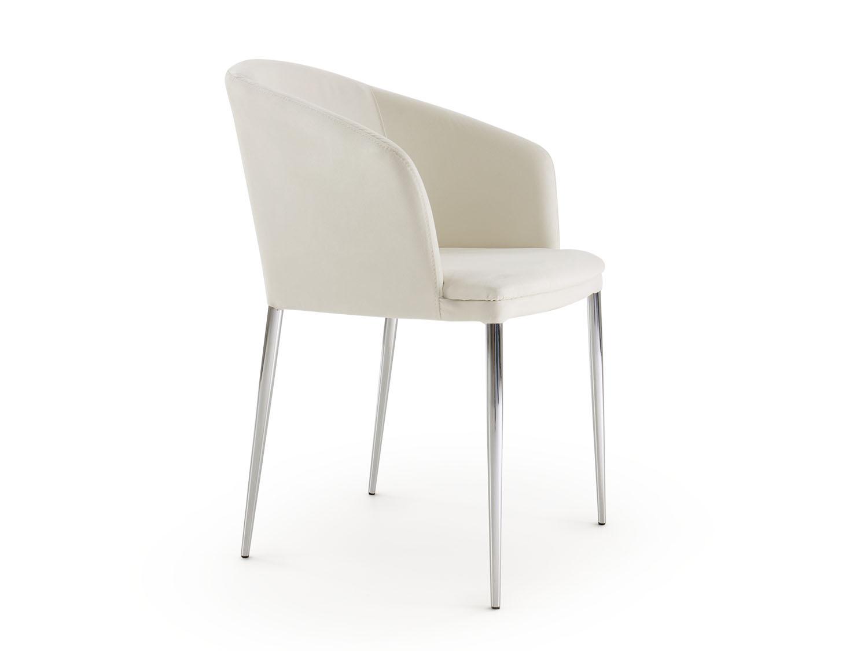 Sedia moderna e comoda fiorella arredaclick