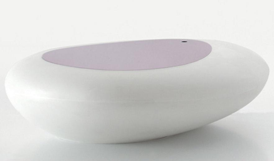 Tavolino sagomato con vano contenitore kos arredaclick