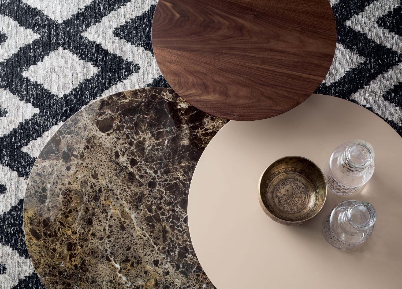 Tavolino moderno con piani sfalsati log arredaclick