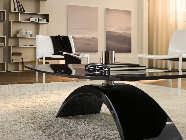 Tavolino con base ad arco tudor arredaclick