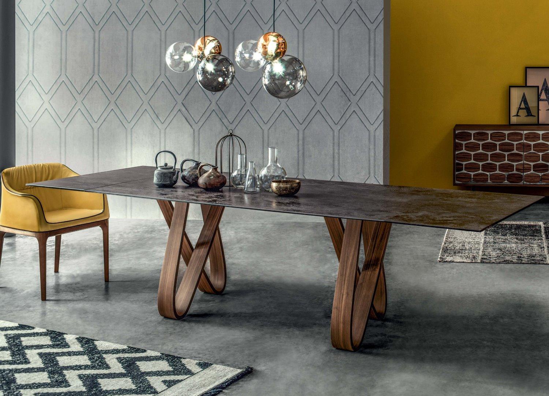 Tavolo di design in marmo butterfly arredaclick