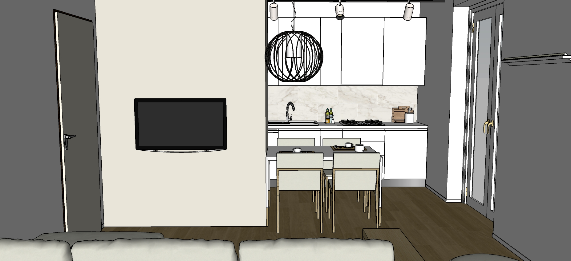 Apertura Nel Muro Tra Cucina E Sala Da Pranzo - The Homey ...