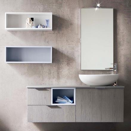 Arredo bagno online arredaclick - Armadietti per bagno ...