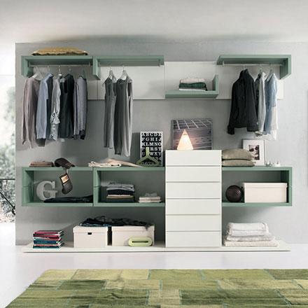 Cabine armadio componibili e su misura arredaclick - Moduli per cabina armadio ...