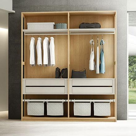 Cabine armadio su misura idee per il design della casa for Cabine armadio componibili ikea