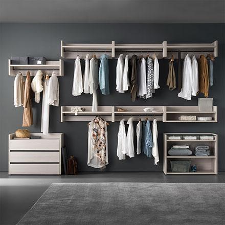 Cabine armadio componibili e su misura arredaclick - Camere da letto con cabina armadio ...