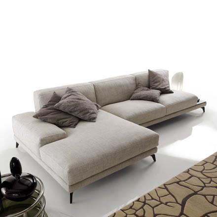 Arredamento salotto arredaclick for Divani moderni con chaise longue