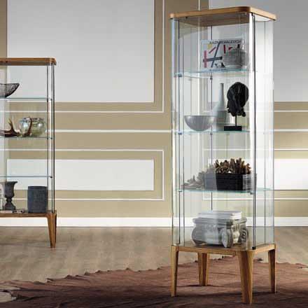 cristalliere moderne : il salotto, vetrine espositive dalle forme originali, cristalliere ...