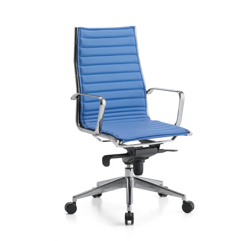 Sedia direzionale con schienale alto empire arredaclick for Poltrone ufficio prezzi