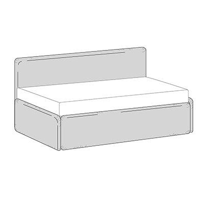 Divano letto singolo con secondo letto estraibile birba sofa - Divano letto senza braccioli ...