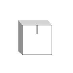 waschbeckenunterschrank 50 cm breit und h ngend arredaclick. Black Bedroom Furniture Sets. Home Design Ideas