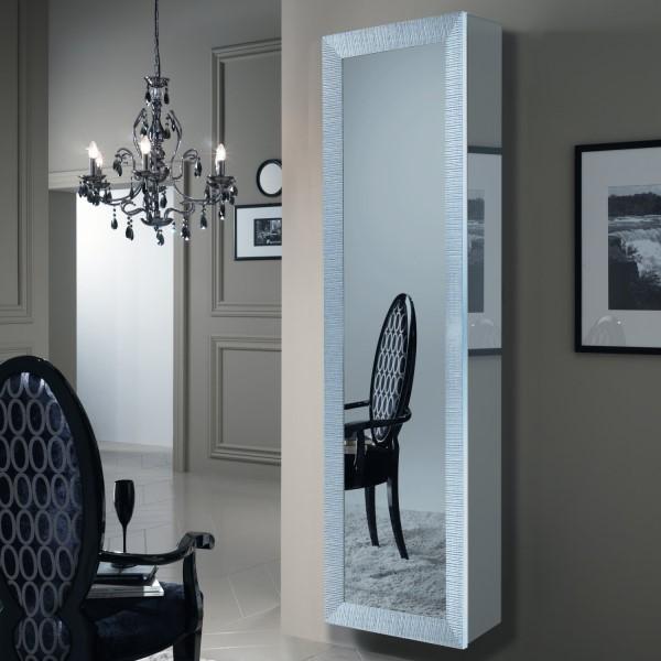 Ingresso sospeso con anta a specchio wayne arredaclick - Porta a specchio ...