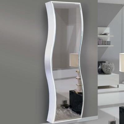 Ingresso sospeso con anta a specchio wayne arredaclick - Ikea attaccapanni da muro ...